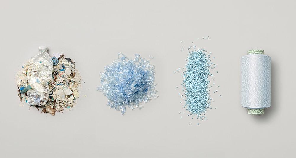 Riciclo creativo plastiche - PET